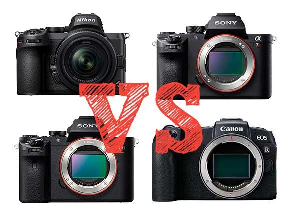 ¿Cuál es la mejor Full Frame básica? Canon vs Nikon vs Sony