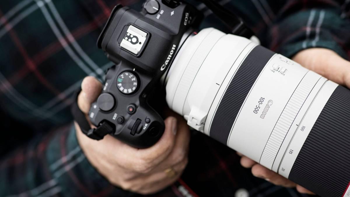 Canon RF 100-500 f/4.5-7.1L: apertura máxima