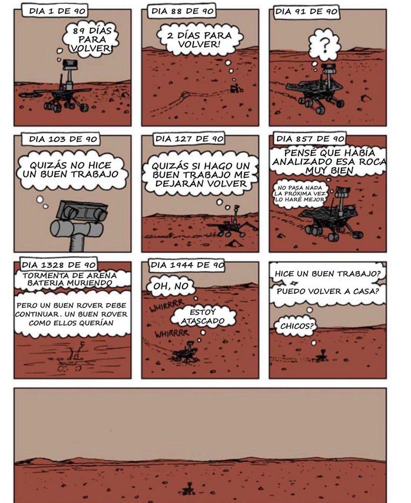 Opportunity Marte