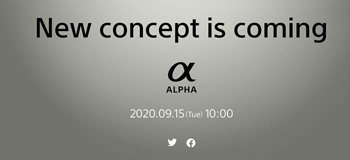 Sony anunciará la nueva cámara full frame (a7c) el 15 de septiembre