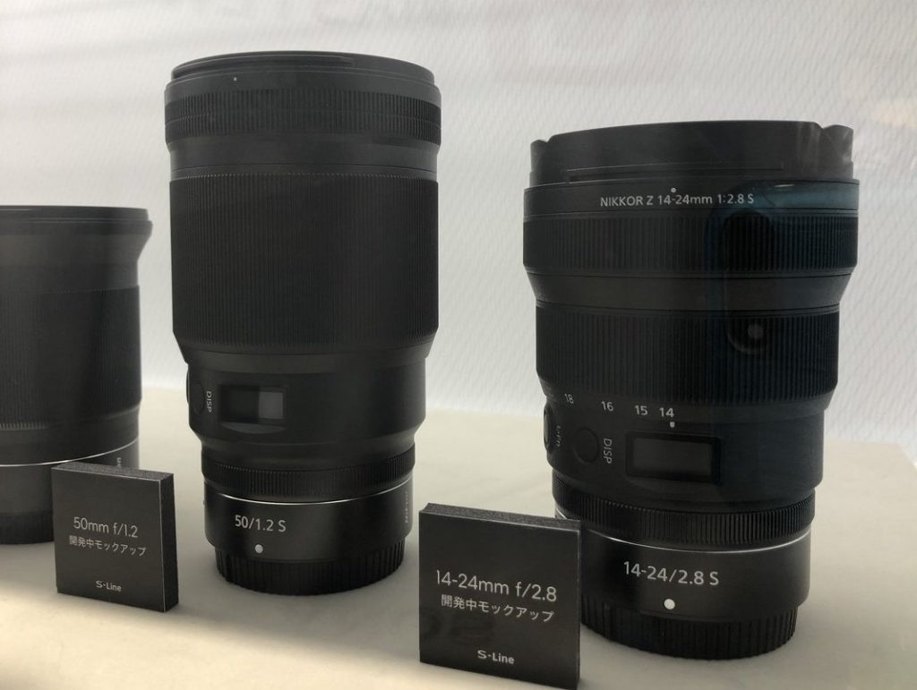 Nikkor Z 50mm S f1.2 Nikkor Z 14-24mm S f2.8
