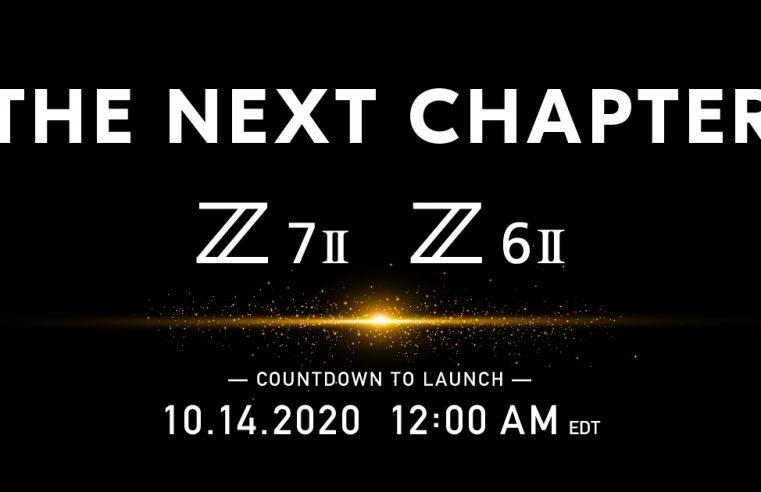 Las nuevas Z6 II y Z7 II de Nikon se anunciarán el 14 de octubre