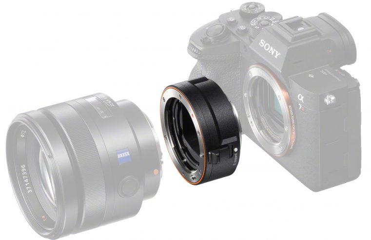 Sony lanza el adaptador LA-EA5 para objetivos con montura A