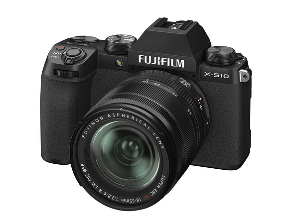 Anunciada la Fujifilm X-S10, hermana pequeña de la X-T4