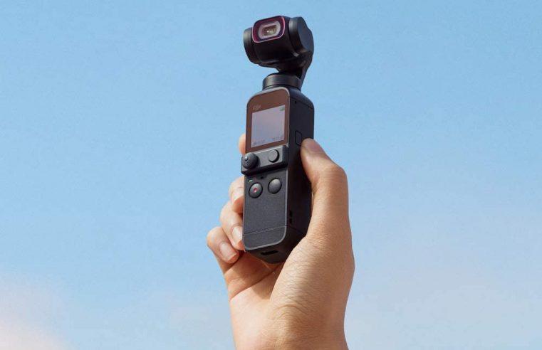 DJI Pocket 2, la cámara con gimbal incorporado se actualiza
