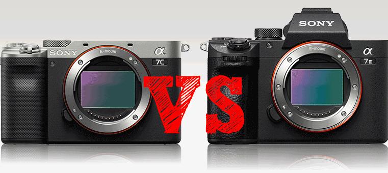 Comparativa Sony a7c vs Sony a7III