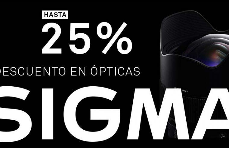 25% descuento en ópticas Sigma