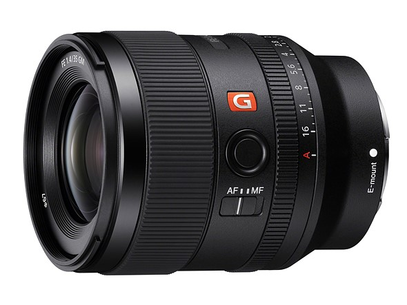 Sony estrena nuevo objetivo 35mm f1.4 GM