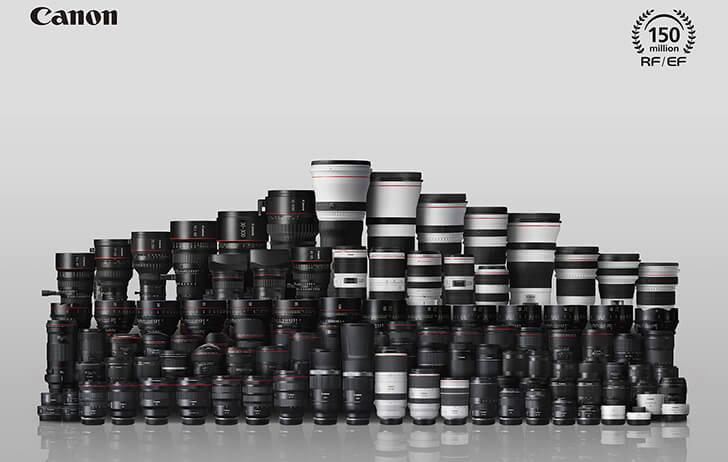 La gama de ópticas Canon RF se ampliará enormemente en 2021