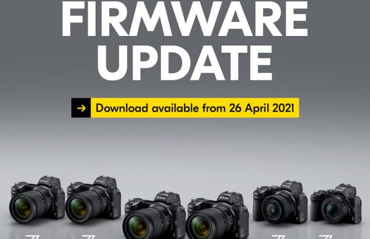 Nikon prepara actualizaciones de firmware para toda sus cámaras Z