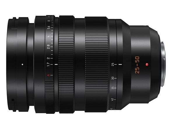 Panasonic anuncia el nuevo objetivo Leica DG 25-50mm f1.7