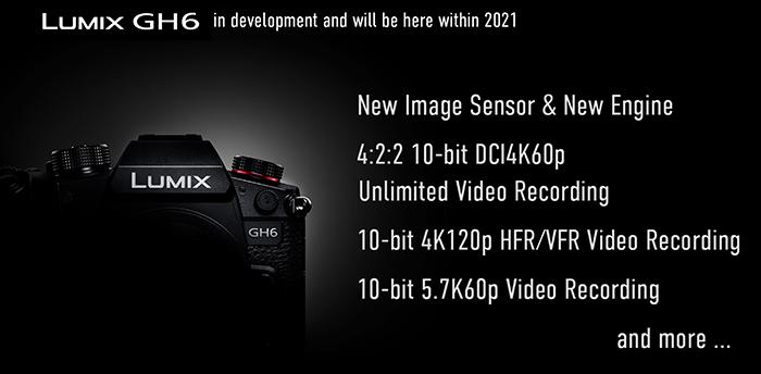 Panasonic anuncia la nueva Panasonic GH6 y actualiza la GH5II