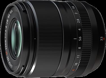 Fujifilm anuncia el nuevo objetivo XF23mm y XF33mm f1.4 R LM WR