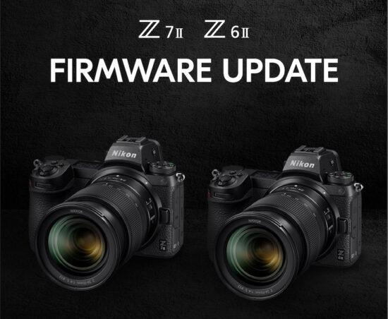 Nikon actualiza el firmware de la Z6II y Z7II